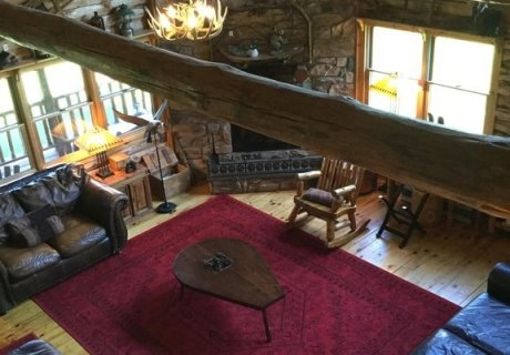 Ultimate Privacy ~ NW Adirondack Region, Log Cabin, 16 Acres
